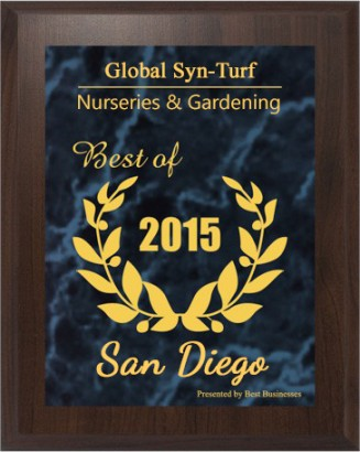 Artificial Grass | Global Syn-Turf Receives 2015 Best Businesses of San Diego Award
