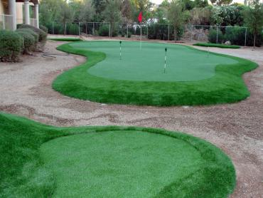 Golf Putting Greens Imperial Beach California Fake Turf  Commercial artificial grass