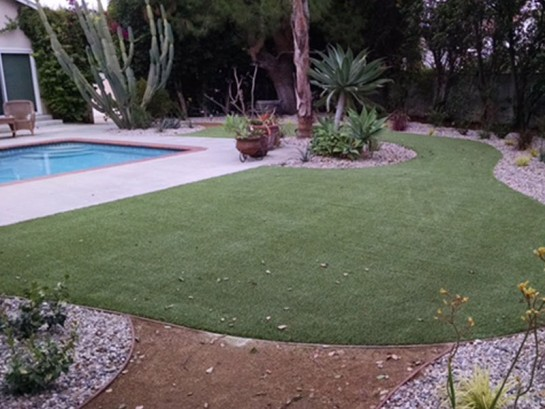 Artificial Grass Photos: How To Install Artificial Grass Borrego Springs, California Rooftop, Backyard Pool