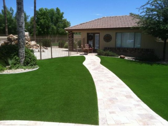 Synthetic Lawn Del Mar, California, Front Yard Landscaping artificial grass